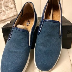 Ugg Mateo Canvas Sneakers